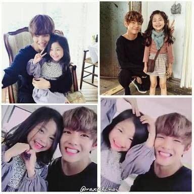 kim taehyung younger sister kim taehyung v bts dorameiros amino
