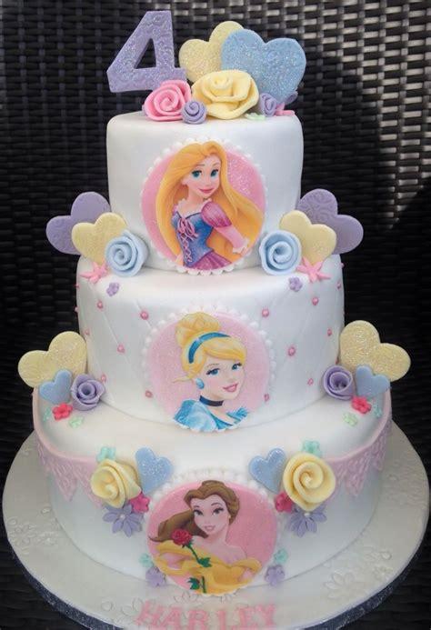 Princess Birthday Cake by Awesome Inspiration Disney Princess Birthday Cakes And