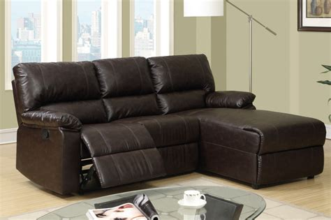 Small Reclining Sectional Sofas Small Coffee Leather Reclining Sectional Sofa Recliner Right Chaise