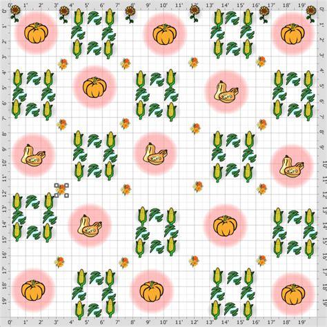 Garden Plan 2014 The Three Sisters Garden Three Garden Layout