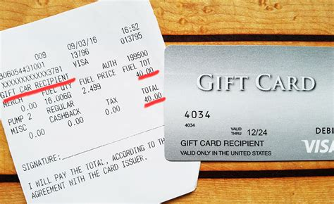 Gas Station Gift Cards - how to pay for gas with a gift card gcg