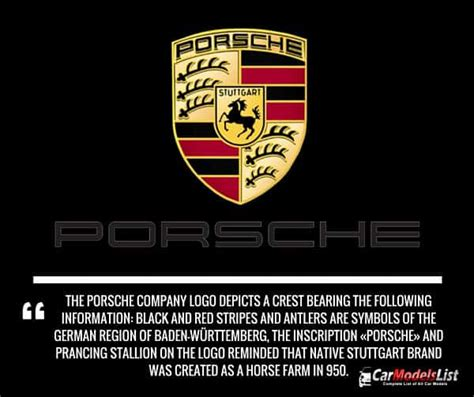 Porsche Meaning all porsche models full list of porsche car models