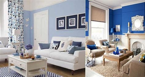 Blue And White Living Room Blue And White Living Room Decorating Ideas