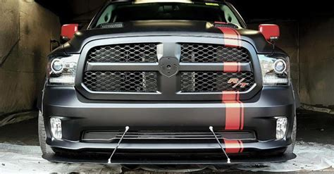 Hellcat Powered Ram With 775hp Ready To Burn It Up
