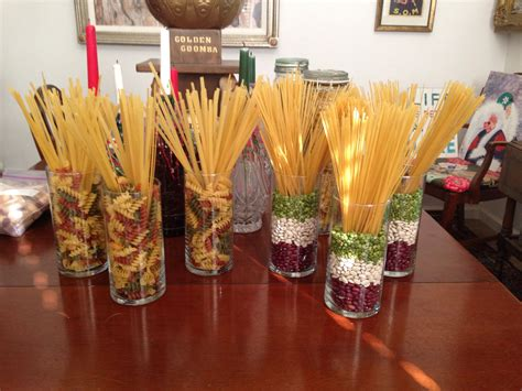 italian decorations for tables italian pasta centerpieces italian themed bridal shower