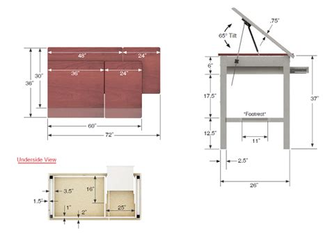 Drafting Table Dimensions Google Search Drafting Table Drafting Table Dimensions