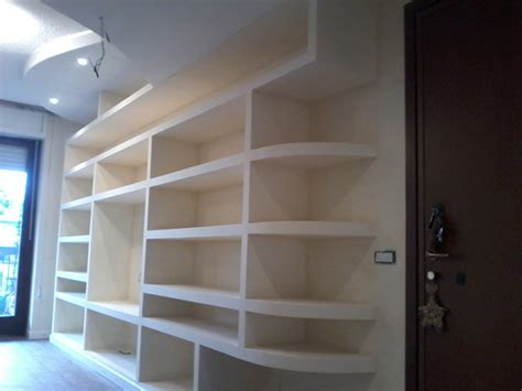 librerie a muro in cartongesso cartongesso monza mai visti prezzi cos 236 bassi