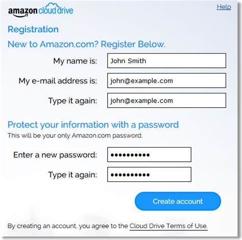 amazon sign up how to get started with amazon cloud drive