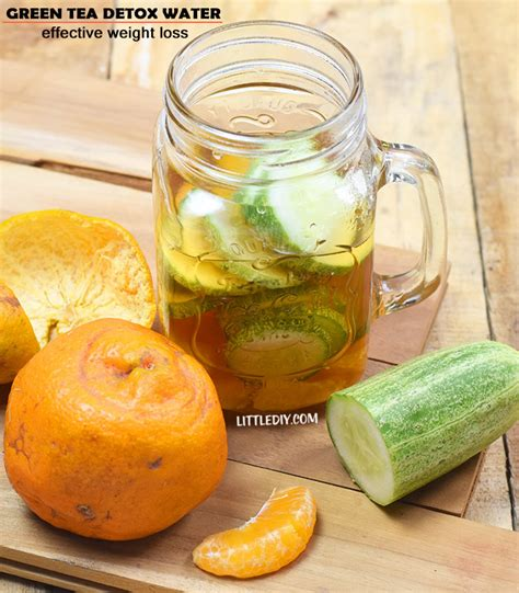 Detox With Green Tea And Water by Ayurvedic Tea For Flat Belly And Weight Loss Littlediy