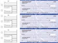 Starting A Background Check Business 3 Per Page Business Size Checks Printed With Logo