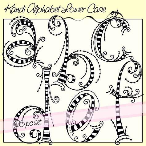printable zentangle alphabet kandi alphabet lower case dangles zentangles doodles