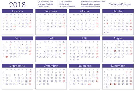 Calendar 2018 Ro 2018 Calendar Romana Merry And Happy New Year 2018