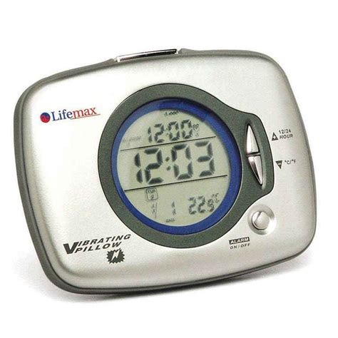 pillow vibration alarm clock nrs healthcare