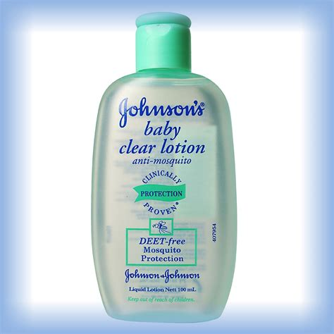 100ml JOHNSON'S JOHNSON BABY CLEAR LOTION ANTI MOSQUITO
