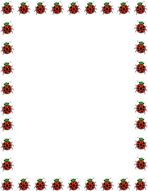 free printable stationery border designs clipart best