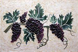 Backsplash Tiles For Kitchen by Grapes And Vines Kitchen Backsplash Designer Glass