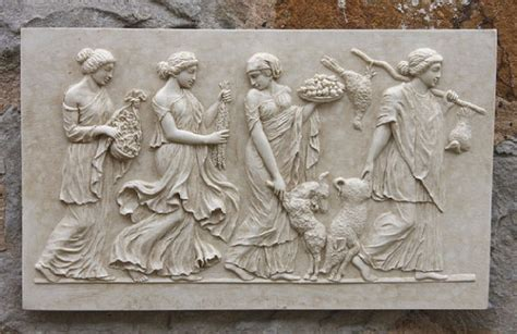 Horse Statue Home Decor greek frieze wall plaque garden wall plaques find greek