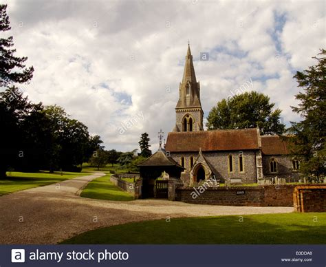 Saint Mark S Church Englefield Berkshire Stock Photo | saint mark s church englefield berkshire stock photo