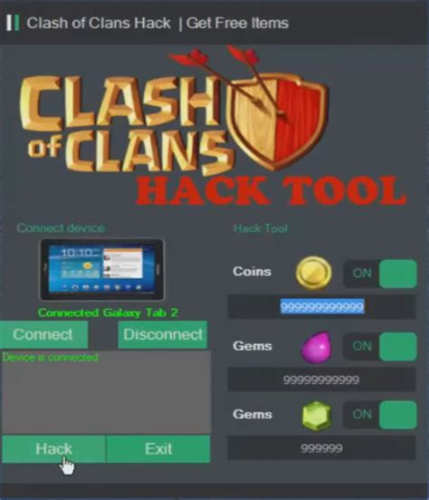 coc hack software for windows clash of clans coc hack download