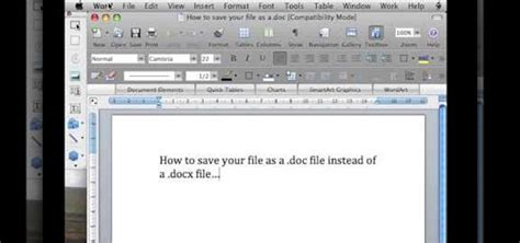 format file doc how to save a file in microsoft word docx and doc format
