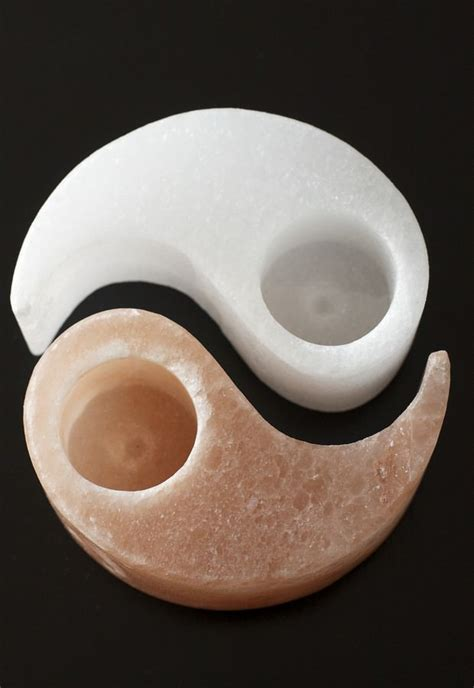 Salt L Candle Holder by Yin Yang Himalayan Salt Candle Holder So Well