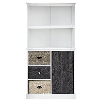 Mercer Storage Bookcase White Ameriwood Home Target Target Bookcase White