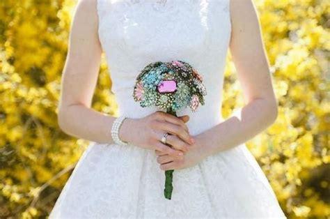 wedding bouquet non floral non floral wedding bouquets weddbook