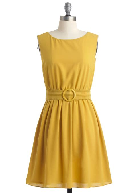 10 For Cq Readers At Modclothcom by Yellow Anyone There Dress Mod Retro Vintage Dresses