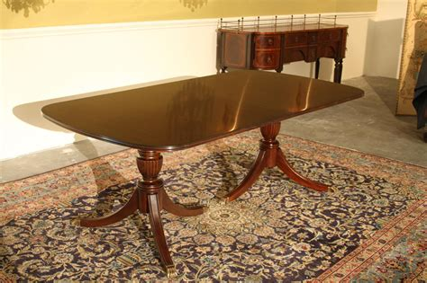 Duncan Phyfe Dining Room Table New High End Solid Mahogany Duncan Phyfe Dining Table Seats 12