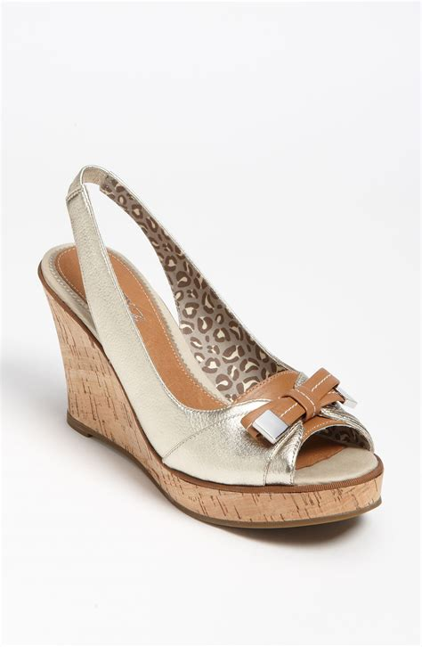 sperry top sider southhton wedge sandal in silver
