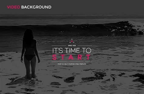 themeforest video background cms themes start one page responsive joomla template