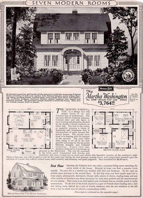 colonial revival house plans martha washington colonial revival kit house plan