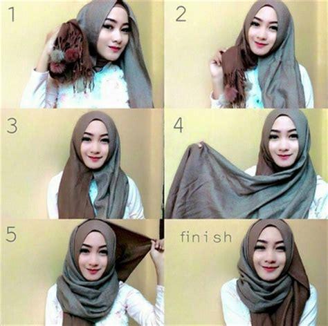 gambar tutorial hijab ala dian pelangi contoh tutorial hijab style dian pelangi terbaru 2016