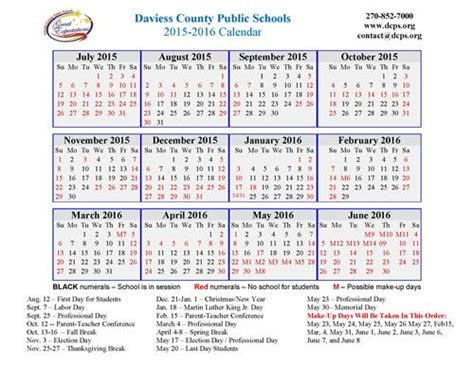 Dcps Calendar 2015 Search Results For Academic Calendar Template 2015 2016