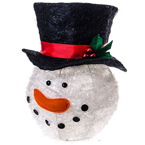 cracker barrel country store sisal snowman tree topper whimsical