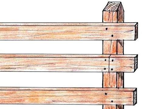 staccionata da giardino recinzione in legno per il giardino