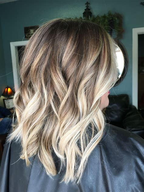 hairstyles brunette to blonde hairstyle of women balayage hair coloring and hair style