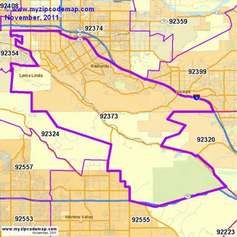 zip code map of 92373 demographic profile residential