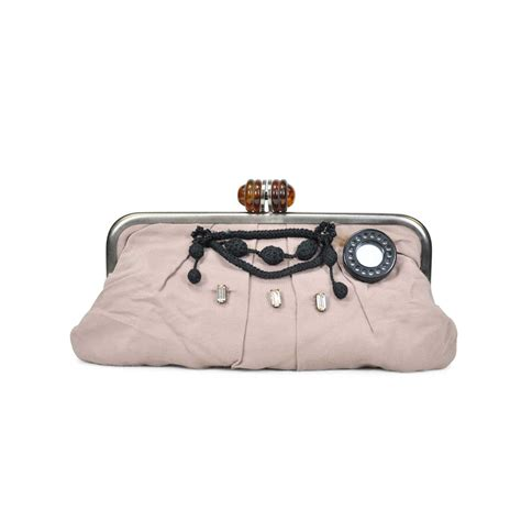 Marni Satin Framed Clutch by Second Marni Silk Clutch The Fifth Collection