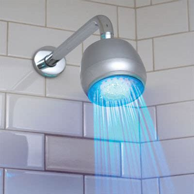 get bathed with led shower light your easy to install