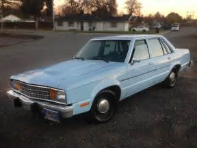 1980 Ford Fairmont Sleeper Sedan 1980 Ford Fairmont Turbo
