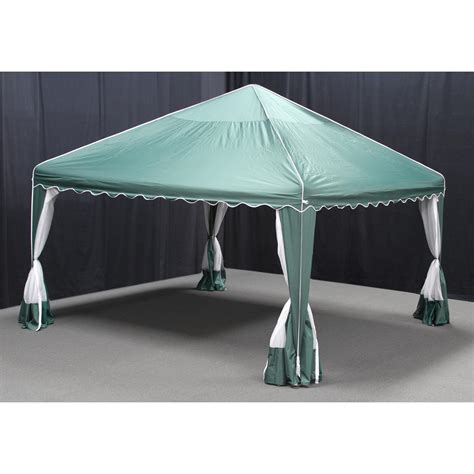 cing awnings 13x13 garden party shelter by king canopy 235659