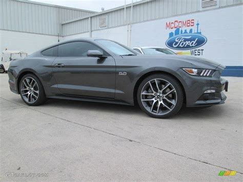 2015 mustang gt colors 2015 magnetic metallic ford mustang gt premium coupe