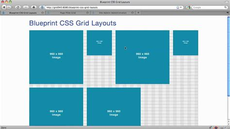 Html Layout Advanced | blueprint css part 2 advanced layouts with grids youtube