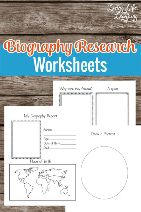 biography features worksheet free biography research worksheets free homeschool deals