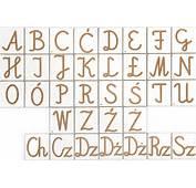 Alfabet Polski Pisany  Liczby I Cyfry Pilch Zabawki