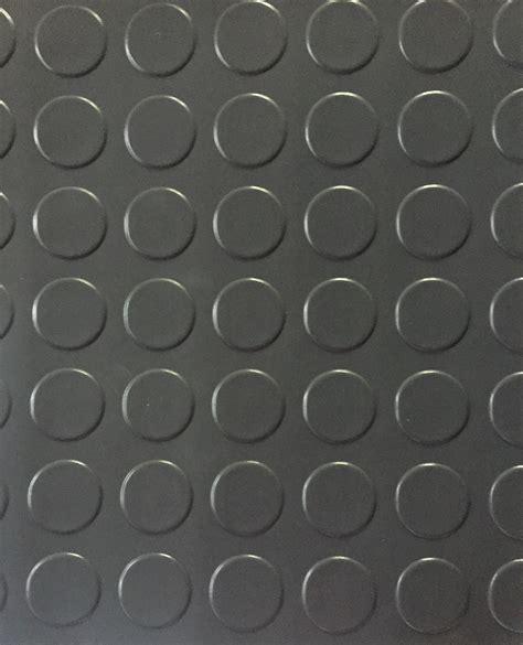 Large Raised Coin Vinyl Flooring Grey   Floor Source and