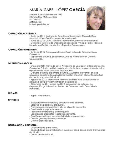 Modelo De Curriculum De Hosteleria Modelo De Curr 237 Culum V 237 Tae Ayudante De Ventas Ayudante De Ventas Cv Plantilla Livecareer