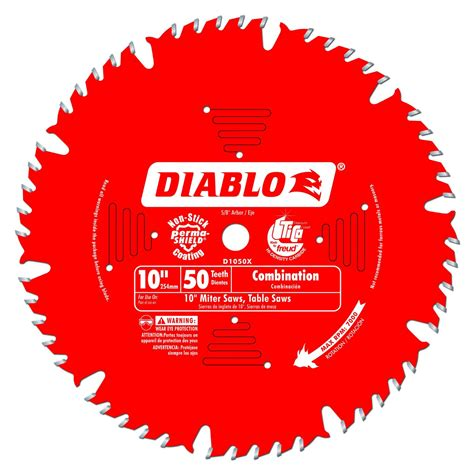 freud table saw blades freud d1050x diablo 10 inch 50t atb combination saw blade