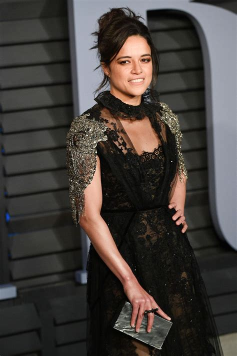 michelle rodriguez oscar 2018 michelle rodriguez 2018 vanity fair oscar party in